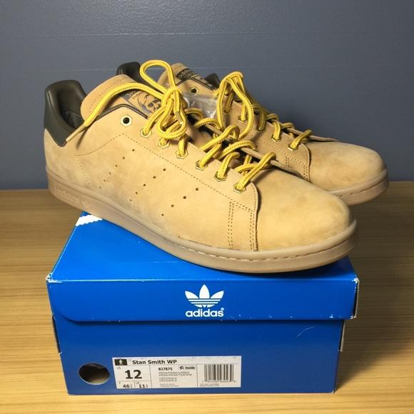 the best attitude e2733 150eb Adidas Stan Smith WP Mesa Brown B37875 Men's 12 M NWT